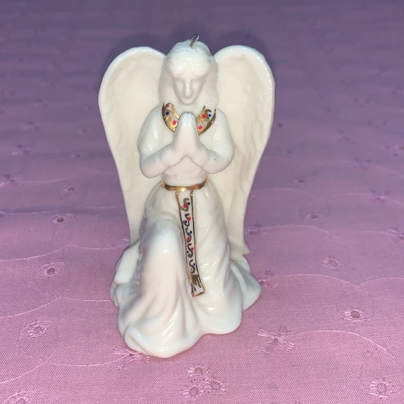 None Other - Angel Christmas Tree Ornament, Gold Accents